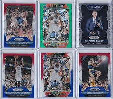 6X LOT 2015-16 PRIZM REFRACTOR WARRIORS KLAY THOMPSON STEPHEN CURRY DRAYMOND GSW