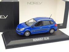 Norev 1/43 - Renault Clio estate Break Blu