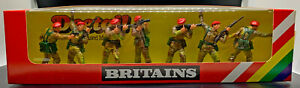 Britains Deetail Paratroopers. - # 6316 mint in box - 54mm - produced in 1980