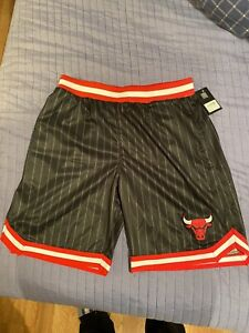 chicago bulls pinstripe shorts  Size XXL New With Tags  . Last Dance