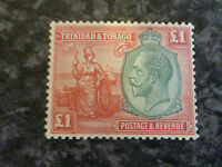 TRINIDAD & TOBAGO POSTAGE & REVENUE STAMP SG229 £1 VERY LIGHTLY MOUNTED MINT