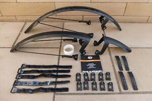 SKS Speedrocker 700c Gravel / Adventure / Cyclocross Bike Mudguard Set - Black