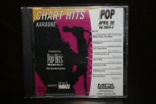 KARAOKE POP HITS MONTHLY POP APRIL 08 VOL. 20816-4 CD+G LIKE NEW