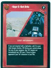 Star Wars CCG Reflections II Combo Premium Sniper & Dark Strike