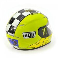Minichamps 1:2 Scale Valentino Rossi AGV Helmet MOTOGP Winter Test 2009.