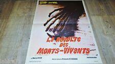 LA REVOLTE DES MORTS-VIVANTS les templiers ! a de ossorio affiche cinema 1971