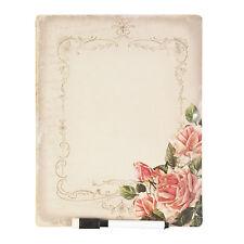 Clayre Eef Memoboard Pinnwand Küchenboard 25*20 cm Rosa
