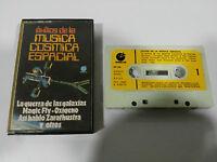 STAR WARS MUSICA COSMICA ESPACIAL CINTA CASSETTE SPANISH ED 1977 PAPER LABELS