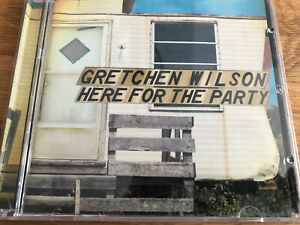 """US Country Music CD Gretchen Wilson """"  Here For The Party """" Sp. Edit. CD + DVD"""