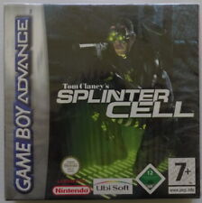 SPLINTER CELL - NINTENDO GAME BOY ADVANCE - NEUF SOUS BLISTER - FR-DE-NL