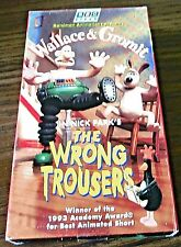 Wallace & Gromit - The Wrong Trousers (VHS, 1995)