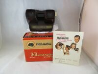 VINTAGE 1950'S BAKELITE VIEW MASTER 3 DIMENSIONAL MODEL E VIEWER IN ORIGINAL BOX