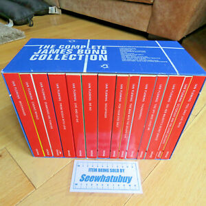 The Complete James Bond Vintage 007 14 Book Collection by Ian Fleming