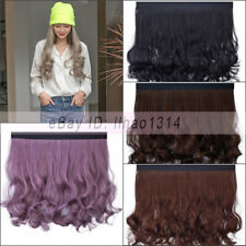 """Hair Weft for the Hat Loose Curly 20"""" Long Hair Synthetic Natural Extension New"""