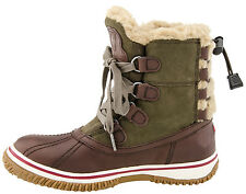 New Pajar Women Iceland winter shearling lining Snow  boots sz US 9-9.5  EUR 40