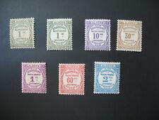 """Algérie  """" Colonies """"   Taxe  N° 15  à  20  neuf *  voir photo"""