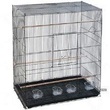 Vol cages pour oiseaux Big Finch perruche Canary Food plats perchoirs confortable