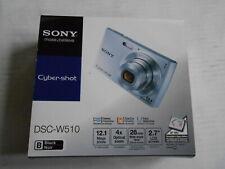 New Open Box - Sony Cyber-Shot DSC-W510 12.1 MP Camera black