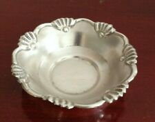 "VINTAGE REPOUSSE STERLING SILVER THIN BOWL. 3.5""RIM/1.5""BASE. 20.50GRS"