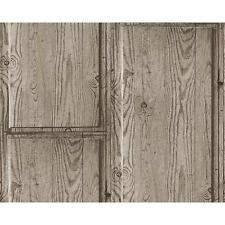 AS Creation Rustic Wood Panel Wallpaper Embossed Faux Effect Realistic 307493