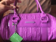 VERA BRADLEY Barrel Bag  LILAC Nylon Collection, New With Tags, Retired