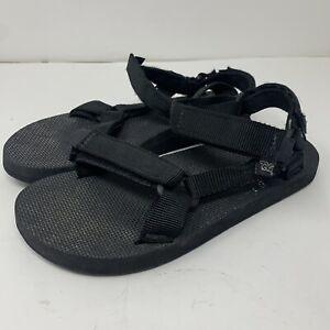 vtg Teva Men's Size 11 Original Universal Black USA Made Hiking Sandals