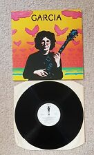 JERRY GARCIA-GARCIA (2nd LP) ISSUED ON UK ROUND/ATLANTIC RECORDS-1974-GOOD.COND