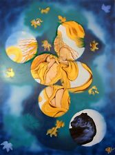 "Art, Painting, ""Through the fog""- Giclee on Canvas 22x29 LTD by Yelena Berzon"