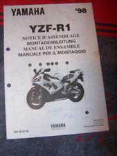 1U - Notice/Manuel Montage/Assemblage Supplement Yamaha Moto YZF-R1 1998