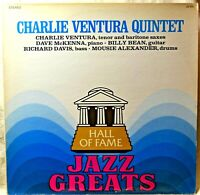 Charlie Ventura Quintet Hall of Fame Jazz Greats LP NM Vinyl Sweet Sue Lorraine