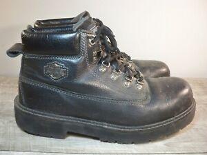 Harley-Davidson Motorcycle Biker Riding 95336 Men's Steel Toe Leather Boots 12
