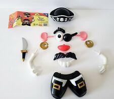 Playskool Mr. Potato Head Halloween Pirate Decoration Pumpkin Push-Ins 14 Pc