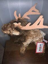 New Nwt Eddie Elk Plush Doulglas Cuddle Toy 10�