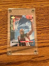 SHAQUILLE O'NEAL UPPER DECK COMPLETE STATISTICS CAREER HIGHLIGHTS CARD IN CASE