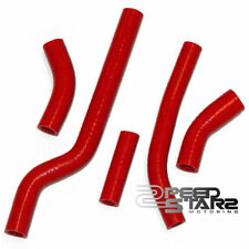 06 YAMAHA YZ250F YZ-250F MOTORCYCLE BIKE RADIATOR REPLACEMENT RED SILICONE HOSE