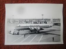 PHOTO DOUGLAS DC-6B YU-AFF ADRIA AIRWAYS 1960'S AEROPORT GATWICK AIRPORT ??