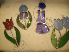 """""""9"""" Creative Art Works Of Colorful Glass Window Ornaments Of Different Shapes"""