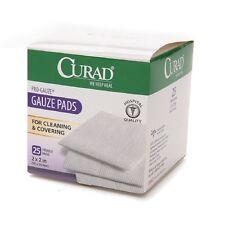 "Curad Sterile Pro Gauze Pads 2"" x 2"" 25 ea"