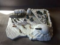 Star Wars Micro Machines Hoth Playset - Complete