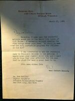 ETHEL KENNEDY SIGNED ORIG 1966 LETTER TO CAPTAIN KANGAROO W/MAILING ENVELOPE!!!!