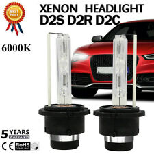 2X  55W D2S D2R D2C HID XENON HEAD LIGHT BULB LAMP LOW BEAM 6000K DIAMOND USA