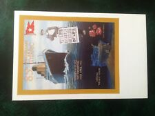 Postcard RMS Titanic 85th Anniversary 1997 Blue Funnel Cruises Wessex Cover