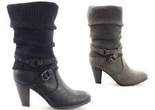 Stivali e stivaletti da donna senza marca sintetico con cerniera