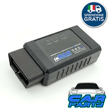 Strumento Diagnosi Auto PRO OBDII OBD2 Bluetooth PC Android Elimina Errori ECU