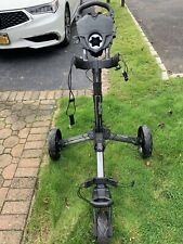 2019 Bag Boy Nitron Push Cart Black/Red Excellent Condition/Gently Used