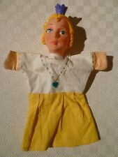 VINTAGE RARE HAND PUPPET - PUNCH & JUDY - QUEEN