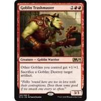1x GOBLIN TRASHMASTER - M19 - MTG - NM - Magic the Gathering