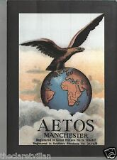 Aetos Manchester Adrian Wilson Fabric Label  _ _ Unposted Postcard