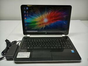 "HP Pavilion 15 Laptop i3 4005u 4th Gen 1.7ghz 8gb Ram 750gb HDD 15.6"" Win 10 Pro"