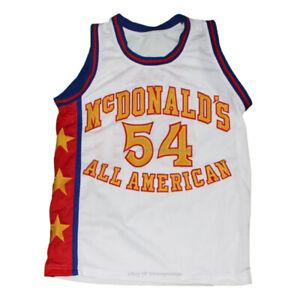 Retro Kwame Brown #54 McDonald's All American Basketball Jerseys Sewn S-4XL
